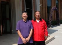 陈建新秘书长与太原市工商联主席陈远新合影